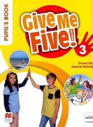 GIVE ME FIVE 3 PUPIL'S BOOK PACK