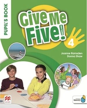 GIVE ME FIVE 4  PUPIL'S BOOK PACK