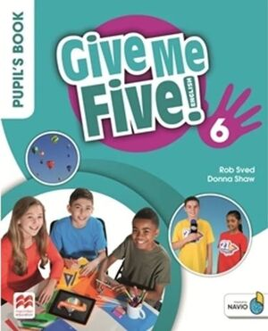 GIVE ME FIVE 6 PUPIL'S BOOK PACK