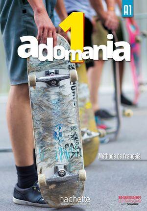 ADOMANIA 1 - LIVRE DE L'ELEVE.(+DVD) A1