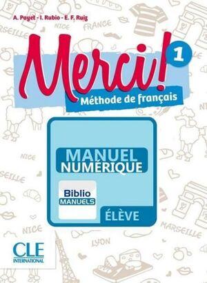 MERCI! 1 A1 - LIVRE DE L'ÉLÈVE MANUEL NUMÉRIQUE ÉLÈVE