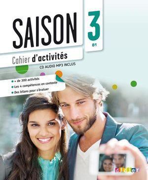 M SAISON 3 B1 CAHIER