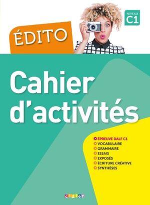 M EDITO C1 CAHIER + CDMP3