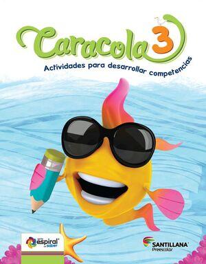 CARACOLA 3 ESPIRAL
