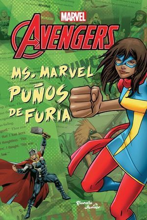 MS. MARVEL. PUÑOS DE FURIA