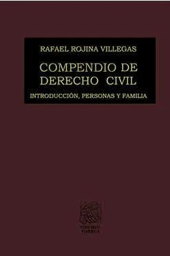 COMPENDIO DE DERECHO CIVIL I