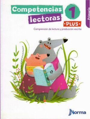 COMPETENCIAS LECTORAS 1 PLUS PRIMARIA
