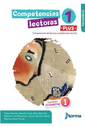 COMPETENCIAS LECTORAS 1 PLUS SECUNDARIA