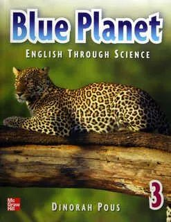 BLUE PLANET 3 ENGLISH THROUGH SCIENCE STUDENT BOOK + CD