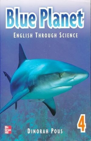BLUE PLANET 4 ENGLISH THROUGH SCIENCE STUDENTS BOOK + CD