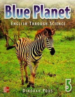 BLUE PLANET 5 ENGLISH THROUGH SCIENCE STUDENT BOOK + CD