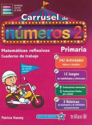 CARRUSEL DE NÚMEROS 2 CUADERNO DE TRABAJO