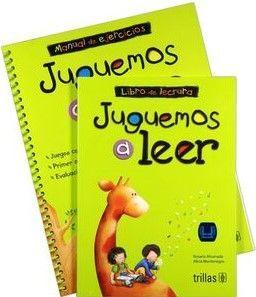 JUGUEMOS A LEER  (CUADERNO DE TRABAJO Y LIBRO DE LECTURAS)