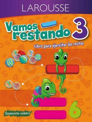 VAMOS RESTANDO 3 PRIMARIA