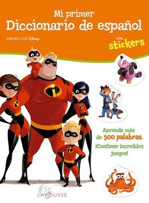 MI PRIMER DICCIONARIO DE ESPAÑOL