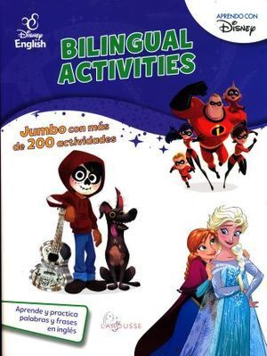 BILINGUAL ACTIVITIES DISNEY