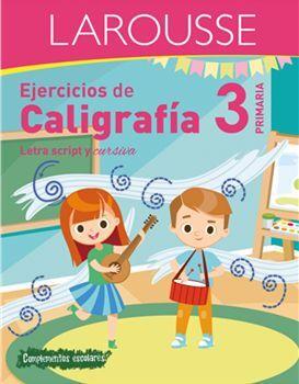 EJERCICIOS DE CALIGRAFÍA 3 DE PRIMARIA