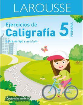 EJERCICIOS DE CALIGRAFÍA 5 DE PRIMARIA