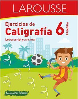 EJERCICIOS DE CALIGRAFÍA 6 DE PRIMARIA