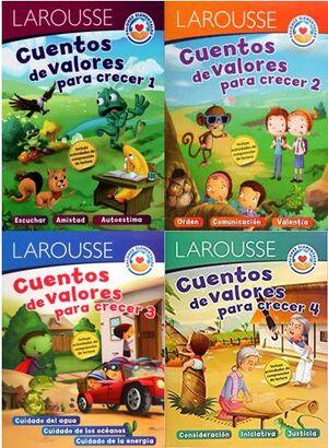 CUENTOS DE VALORES (VENTA INDIVIDUAL)