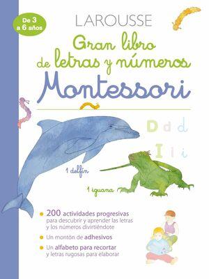 GRAN LIBRO DE LETRAS Y NÚMEROS MONTESSORI