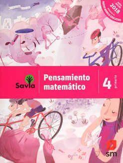 PENSAMIENTO MATEMÁTICO 4 PRIMARIA SAVIA NME
