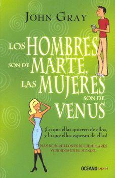 HOMBRES SON DE MARTE, LAS MUJERES SON DE VENUS, LAS