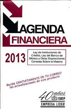 AGENDA FINANCIERA 2013