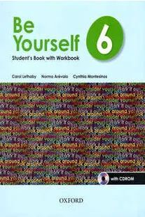 BE YOURSELF 6 STUDENTS BOOK WITH WORKBOOK