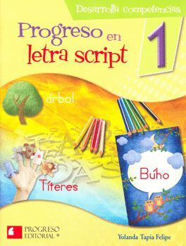 PROGRESO EN LETRA SCRIPT 1