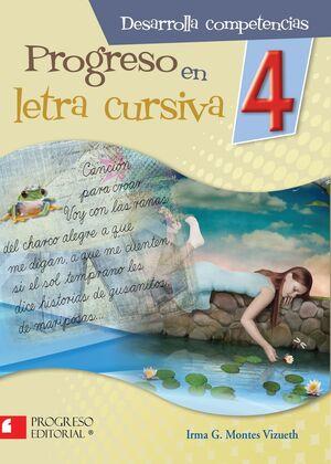 PROGRESO EN LETRA CURSIVA 4