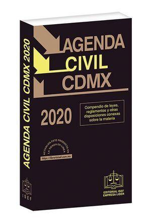AGENDA CIVIL DE LA CIUDAD DE MÉXICO 2020