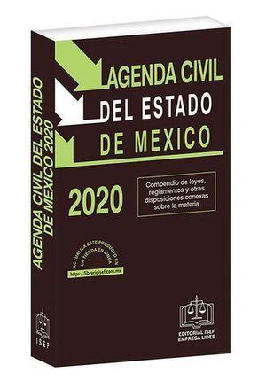 AGENDA CIVIL DEL ESTADO DE MÉXICO 2020
