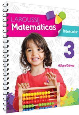 MATEMÁTICAS 3 PREESCOLAR