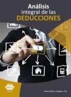 ANALISIS INTEGRAL DE LAS DEDUCCIONES 2020