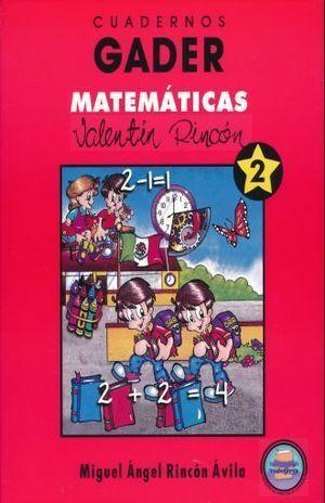 CUADERNOS GADER 2 MATEMÁTICAS