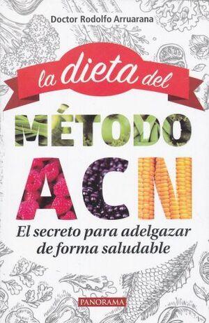 DIETA DEL MÉTODO ACN