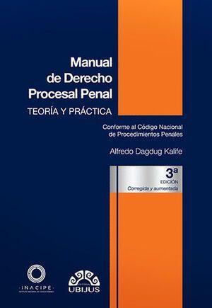 MANUAL DE DERECHO PROCESAL PENAL  3ED