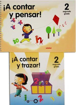 A CONTAR Y PENSAR PREESCOLAR 2 PACK