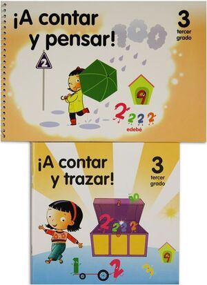 A CONTAR Y PENSAR PREESCOLAR 3 PACK