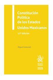 CONSTITUCIÓN POLÍTICA DE LOS ESTADOS UNIDOS MEXICANOS 2022