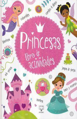 PRINCESAS. LIBRO DE ACTIVIDADES