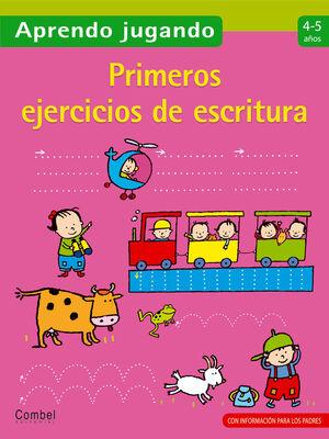 PRIMEROS EJERCICIOS DE ESCRITURA 4-5 AÑOS