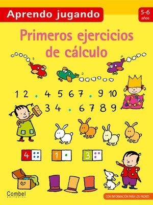 PRIMEROS EJERCICIOS DE CÁLCULO 5-6 AÑOS