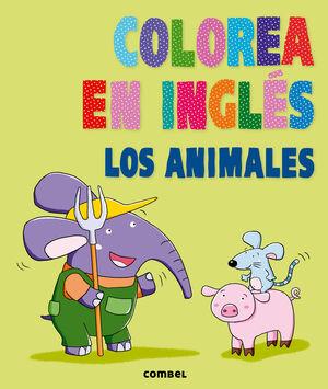 ANIMALES, LOS. COLOREA EN INGLÉS
