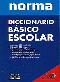 DICCIONARIO BASICO ESCOLAR