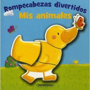 ROMPECABEZAS DIVERTIDOS MIS ANIMALES