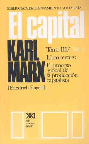 CAPITAL, EL. TOMO III/VOL. 6