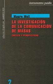 INVESTIGACIÓN DE LA COMUNICACIÓN DE MASAS, LA