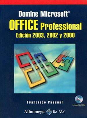 DOMINE MICROSOFT OFFICE PROFESIONAL